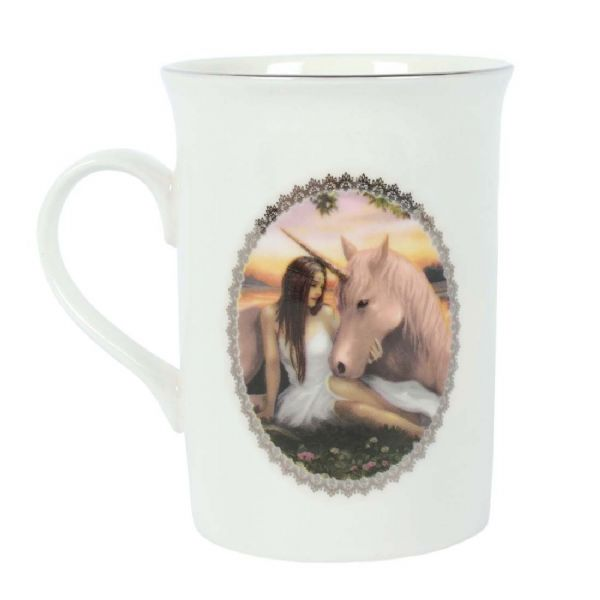 ANNE STOKES Pure Heart Unicorn Mug